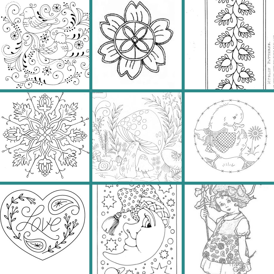 Embroidery Patterns Free Simple Decorating