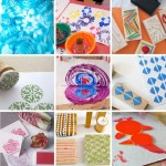 Weekend Inspiration: Printmaking With Kids