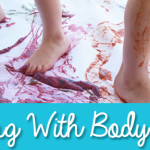 Big Messy Art: Painting With Body Parts