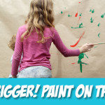 Big Messy Art: Paint on the Walls!
