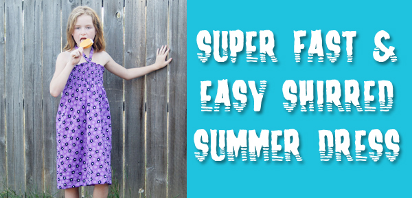 Tutorial: How to Sew a Super Easy & Quick Summer Dress with Shirring from Muse of the Morning