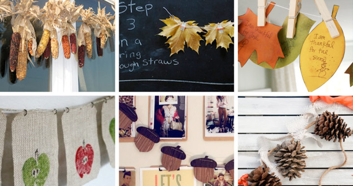 Fall Buntings and Banners round up from Muse of the Morning