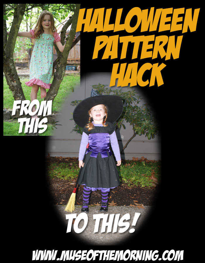 Halloween Hack of the Ramblin' Raglan Mega Pattern Pack with Muse of the Morning