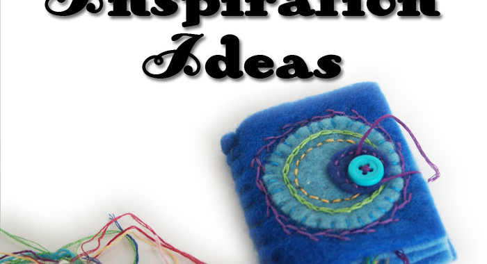 12 Inspiring ideas for embellishing, embroidering and appliqueing felt needle books. From Muse of the Morning