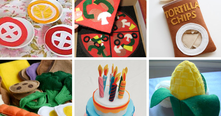 Amazing Felt Food Round Up on Muse of the Morning
