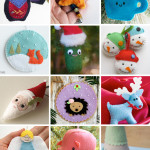 Weekend Inspiration: Felt Ornaments