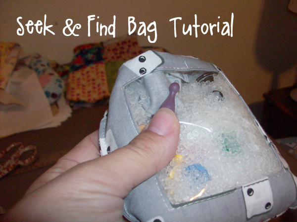 Seek and Find Bag Tutorial from Muse of the Morning