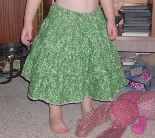 Make An Easy Tiered Skirt With Gathering Done On Your Serger Muse