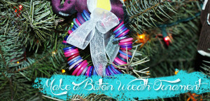 Tutorial: Button Wreath Ornament from Muse of the Morning