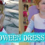 Halloween Dress Hack – Flower Girl Dress to Fairy Costume