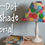 Tutorial: Polka-Dot Lampshade