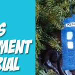 Felt TARDIS Ornament Tutorial – Guest Post for Crafting Con