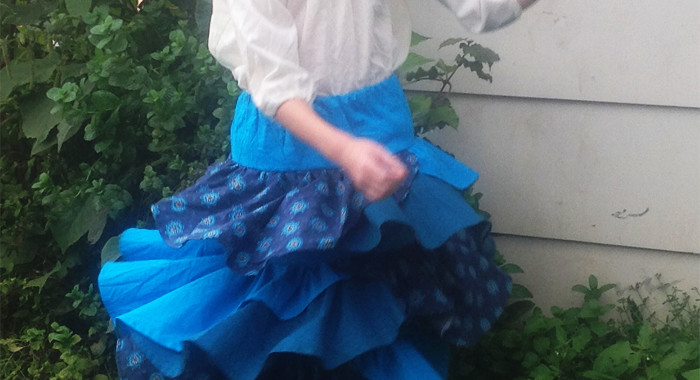 Designer's Pattern Swap: EYMM's Kenzie Party Dress & Skirt