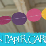 Tutorial: Simple Paper Circle Garlands