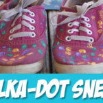 Tutorial: Polka-Dot Shoes