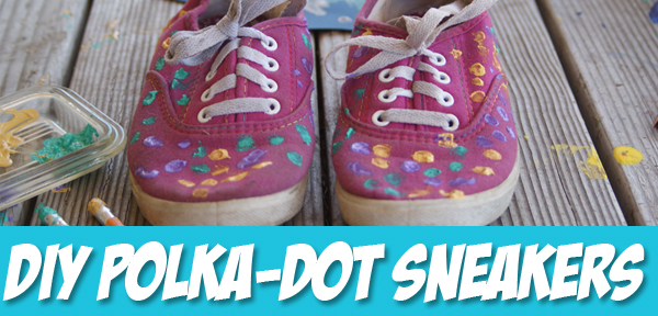 Tutorial: Polka-Dot Shoes from Muse of the Morning