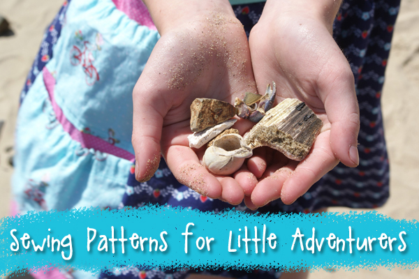 PDF sewing patterns for carefree adventuring children from Muse of the Morning