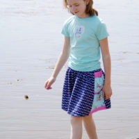 The Beachcomber Skirt PDF sewing pattern from Muse of the Morning