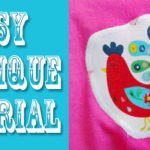 Brand New Shirts Super Fast: An Applique Tutorial