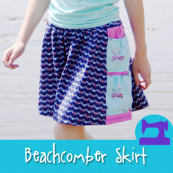 The Beachcomber Skirt - a pattern from Muse of the Morning