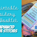Free Printable: Embroidery Stitches Booklet – Page 3