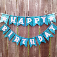 Happy Birthday Bunting Project Pattern from Muse of the Morning - sewing, embroidery or needle felting!