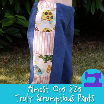 The Almost One Size Truly Scrumptious Pants Pattern from Muse of the Morning