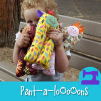 Pant-a-loOoOns - a soft toy sewing pattern from Muse of the Morning