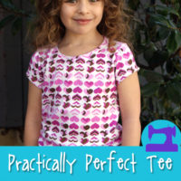 The Practically Perfect Tee Shirt Sewing Pattern from Muse of the Morning