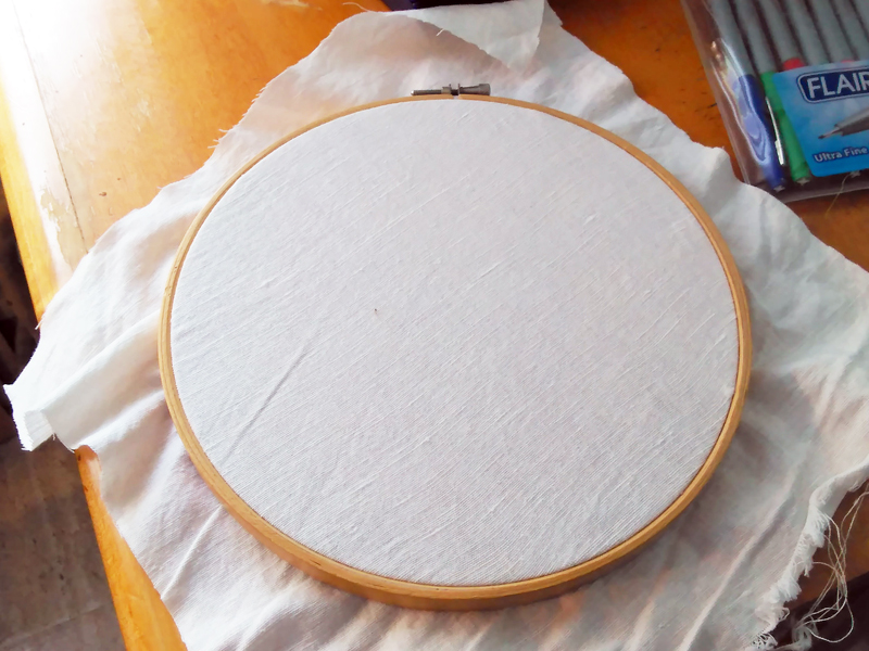 Tutorial: The Hoop and Window Method of Transferring Embroidery Designs onto Fabric - by Muse of the Morning