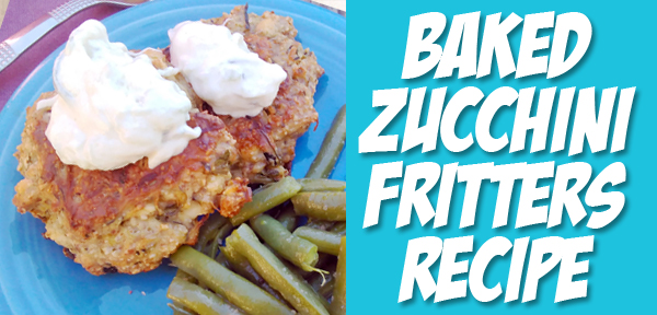 Baked Zucchini Fritters recipe from Muse of the Morning - bonus! They're gluten free and whole foods too!!