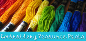 Free Embroidery Resources & Tutorials from Muse of the Morning