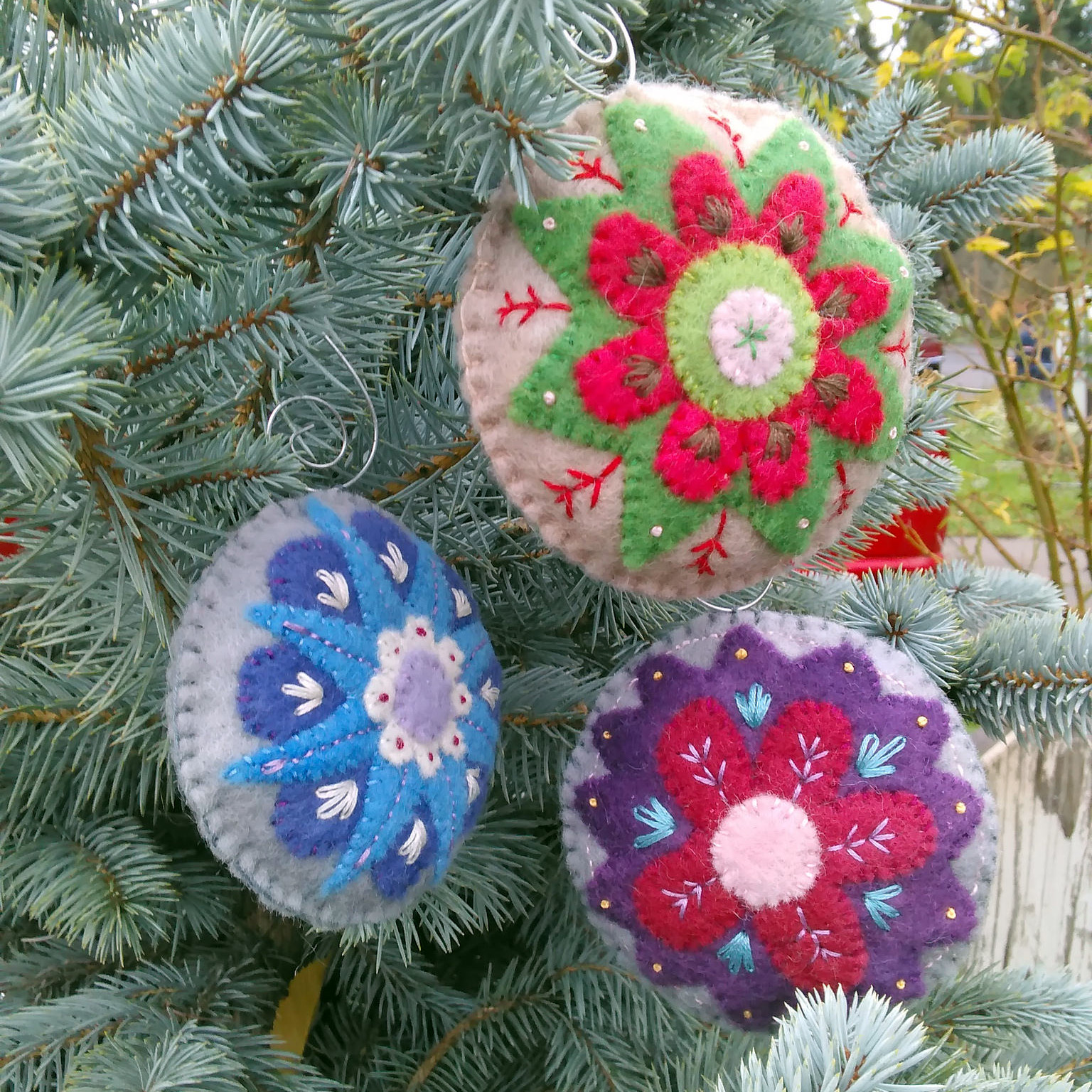New pattern holiday ornament collection muse of
