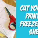 Tutorial: Cut Your Own Printable Freezer Paper Sheets