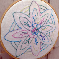Stitching Bliss; Design 1 an embroidery design from Muse of the Morning