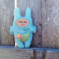 Sprout Snugz - a mini stuffie sewing pattern from Muse of the Morning - SnugzDollz