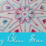 New Stitching Bliss: Star Flower
