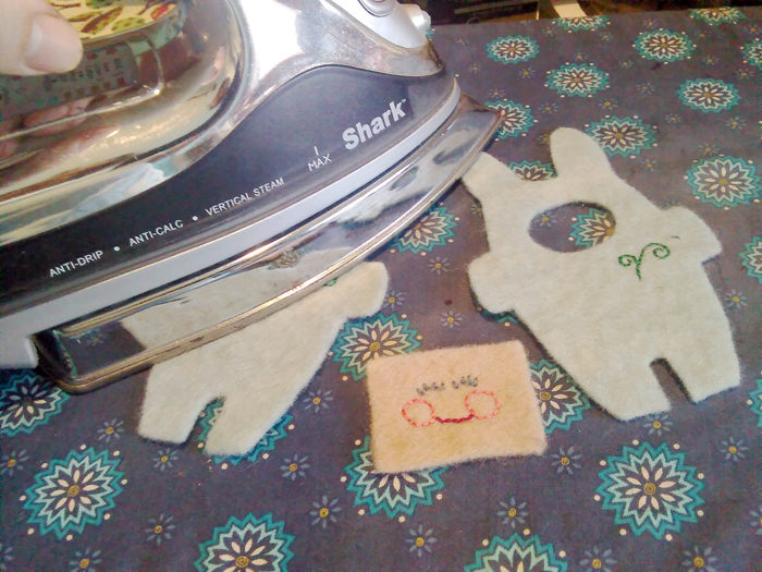 How to use sulky sticky fabri-solvy when working with felt - a tutorial from Muse of the Morning